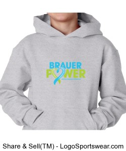 Youth Brauer Power Hoodie Design Zoom