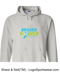 Brauer Power Adult Sweatshirt - Gildan Design Zoom